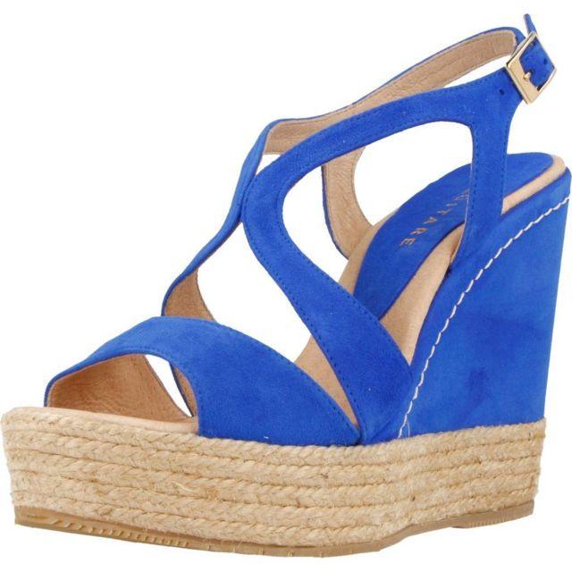 Equitare Sandales, nu-Pied, mules Jones29 , Bleu