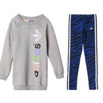 Adidas originals - Lk Set Girls Gyb - Ensemble Legging + Sweat Fille Adidas