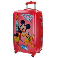 Jou Jye - Grande valise coque rigide Mickey rouge