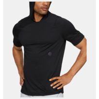 code promo 13076 337cc Sweat à capuche manches courtes Rush Hoodie noir Pour Homme Taille - M