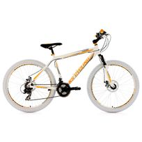 Ks Cycling - Vtt semi rigide 26'' Compound blanc Tc 53 cm