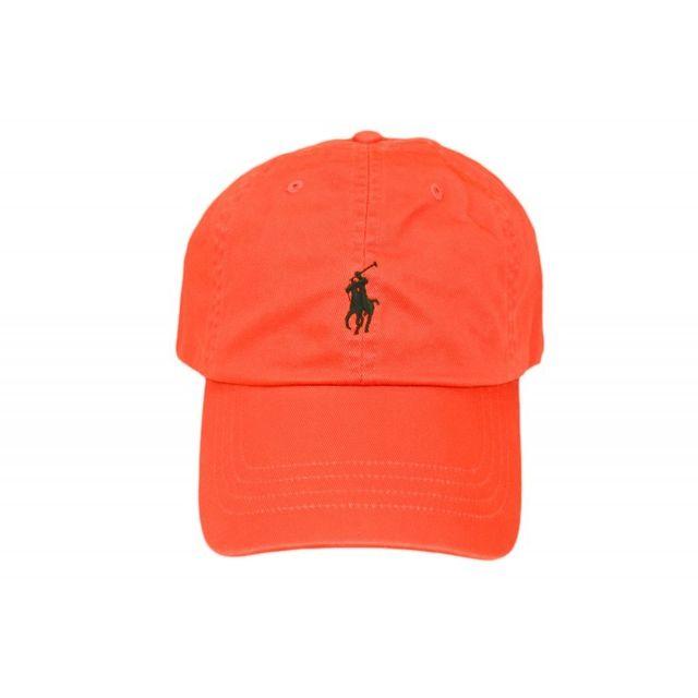 17e9c132dfcc Ralph Lauren - Casquette orange mixte - pas cher Achat   Vente Casquettes  enfant - RueDuCommerce
