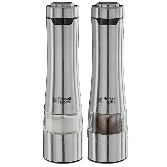 RUSSELL HOBBS ensemble moulins electriques sel et poivre avec lumière - 23460-56