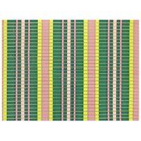 Promobo - Tapis De Protection Evier Multi Usage Pvc Absorbant Design City Rayé Lignes Couleur