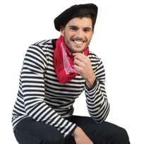 Funny fashion - Tee-shirt Rayé Noir et Blanc - Adulte