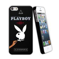 Eleven Paris - Coque Playboy Rabbit Toucher Gomme Iphone 5/5s