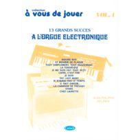 Carisch - Méthodes Et Pédagogie Delrieu J.ph A Vous De Jouer A L'orgue Electronique Vol. 4 Orgue