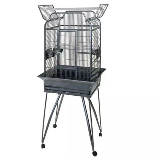 Strong Cages pour perroquets Villa Andrea Gris 68 x 55 x 160 cm