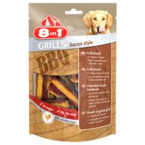 8IN1 - Friandises Grills Bacon Style pour Chien