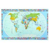 Veloflex - 4671000 Sous-main Motif carte du monde 40 x 60 cm Import Allemagne