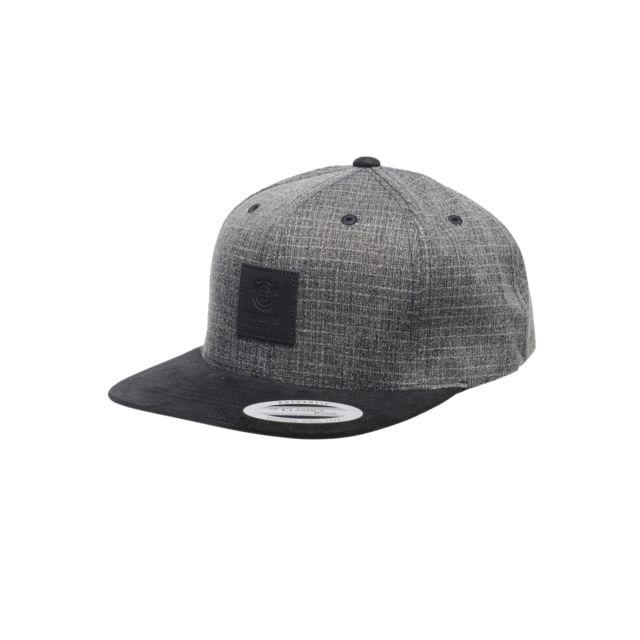 ab45a220445ff Element - Casquette State Ii Cap Black Grid - pas cher Achat / Vente  Casquettes, bonnets, chapeaux - RueDuCommerce