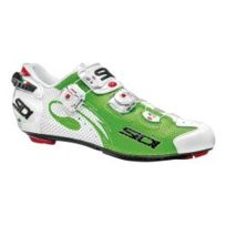 Sidi - Chaussures Wire Carbon Air route vert fluo blanc