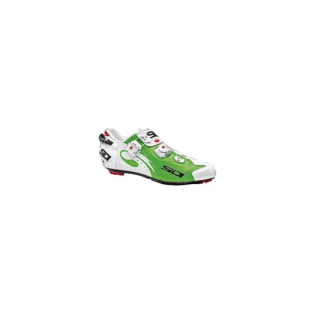 Chaussures fluo route pas Sidi blanc Air Carbon cher vert Wire FxAqY1wqd