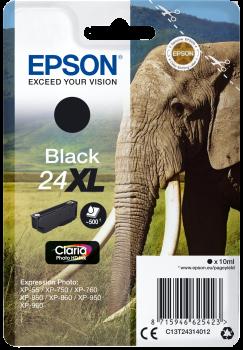 epson cartouche noire xl el phant t2431 pas cher achat vente cartouche d 39 encre noire. Black Bedroom Furniture Sets. Home Design Ideas