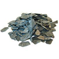 SECRET VERT - Paillis d'ardoises bleu noir 25kg