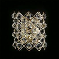 Chiaro - Applique Murale Crystal Doré 4x60W 232020704