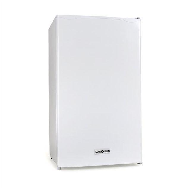 KLARSTEIN 90L1-WH Réfrigérateur 90 litres + compartiment congélateur classe A