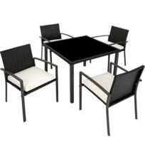 Grande table chaises resine tressee - catalogue 2019 ...