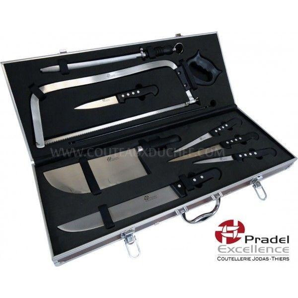 Pradel excellence valise de couteaux professionnels boucher pas cher achat vente couteau - Pradel couteau cuisine ...