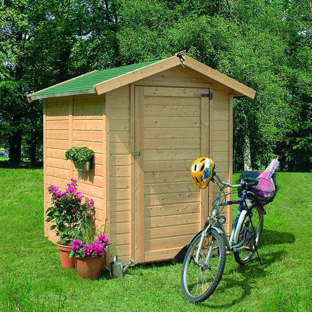 karibu abri de jardin bois 186 m2 felin 1 14mm pas cher achat vente abris en bois. Black Bedroom Furniture Sets. Home Design Ideas
