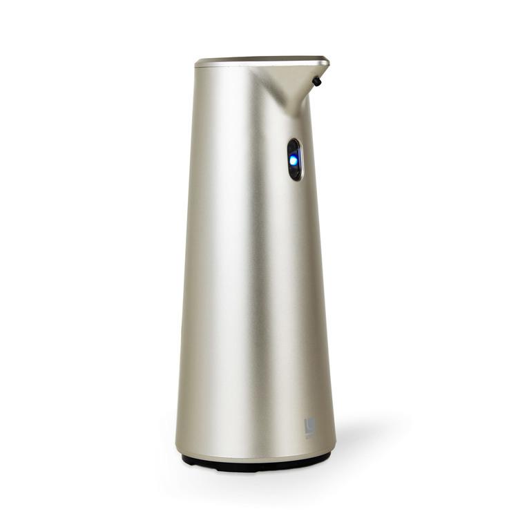 Distributeur de savon automatique en plastique 295 ml H.19.7cm Finch