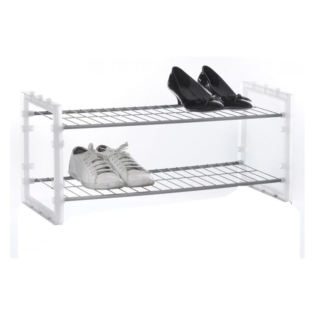 Jja rack chaussures superposable blanc
