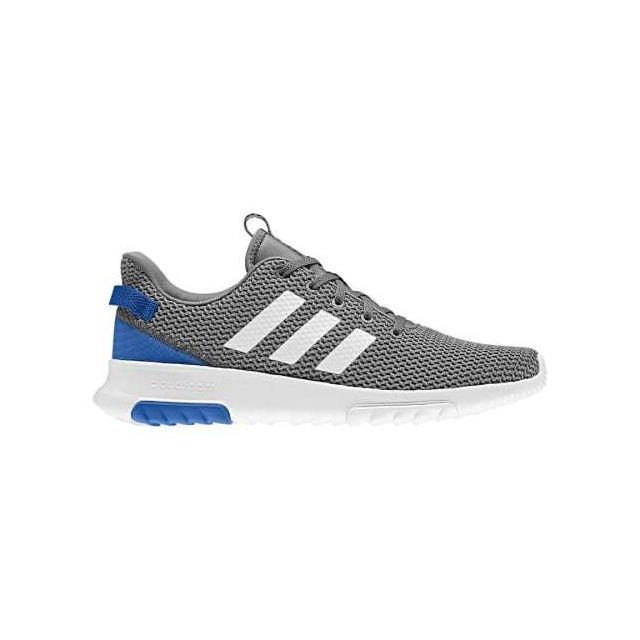 adidas neo court gris bleu