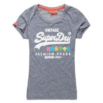 Superdry - Premium Goods Rainbow T-shirt Mc No Name