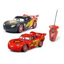 Majorette - Cars - Coffret de 2 voitures radiocommandées Cars classique et carbone