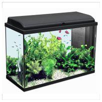 Aquadisio - Aquarium Iban - Longueur de 80cm - Noir
