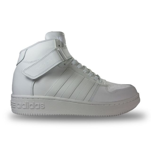 low priced 717e7 c9379 Adidas - Chaussure team court mid blanche