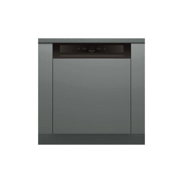 Hotpoint Hbc2b+26b Lave-vaisselle Encastrable - 14 Couverts - 46 Db - A++ - Larg 59,5 Cm - Inox - Moteur Induction