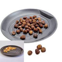 MAISON FUTEE - Plaque de Cuisson perforée - Poêle à châtaignes
