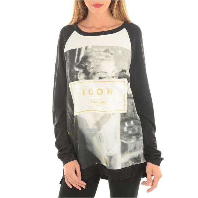 f059e87c5992 Guess - Pulls   gilets Jeans Femme W54r21z0vn0 - pas cher Achat   Vente  Gilet femme - RueDuCommerce