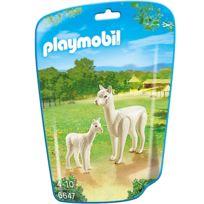 Playmobil - 6647 - City Life : Alpaga et son petit