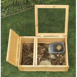 zoomed cage bois tortue de terre. Black Bedroom Furniture Sets. Home Design Ideas