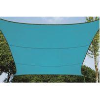 Velleman - Voile solaire carré 3.6 x 3.6m turquoise