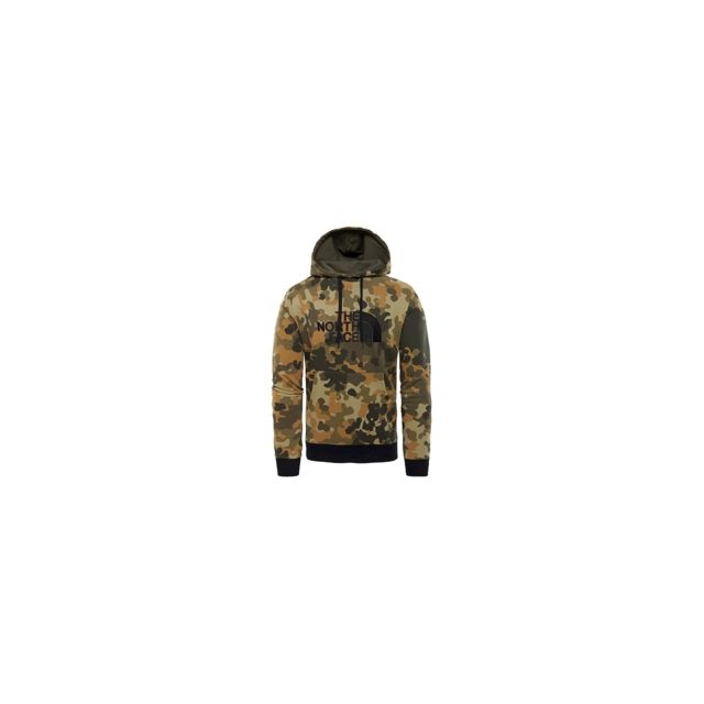 2baabadedf56b The north face - Sweat Capuche Drew Peak Taupe Green - pas cher Achat   Vente  Sweat homme - RueDuCommerce