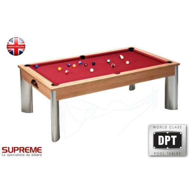 Dpt - Billard Pool Fusion 7ft Châtaignier