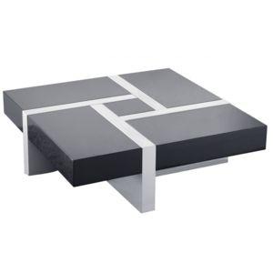 mobilier nitro table basse design 4 tiroirs laholm pas cher achat vente tables basses. Black Bedroom Furniture Sets. Home Design Ideas