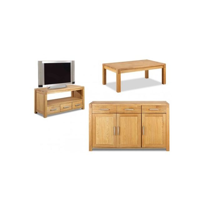 Broceliande BuffetMeuble Meubles Et Table Unique Tv Pack Vente WEbH29YeDI