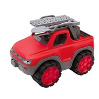 Big - Le Pick-up Power-worker De Voiture De Jeu, Rouge