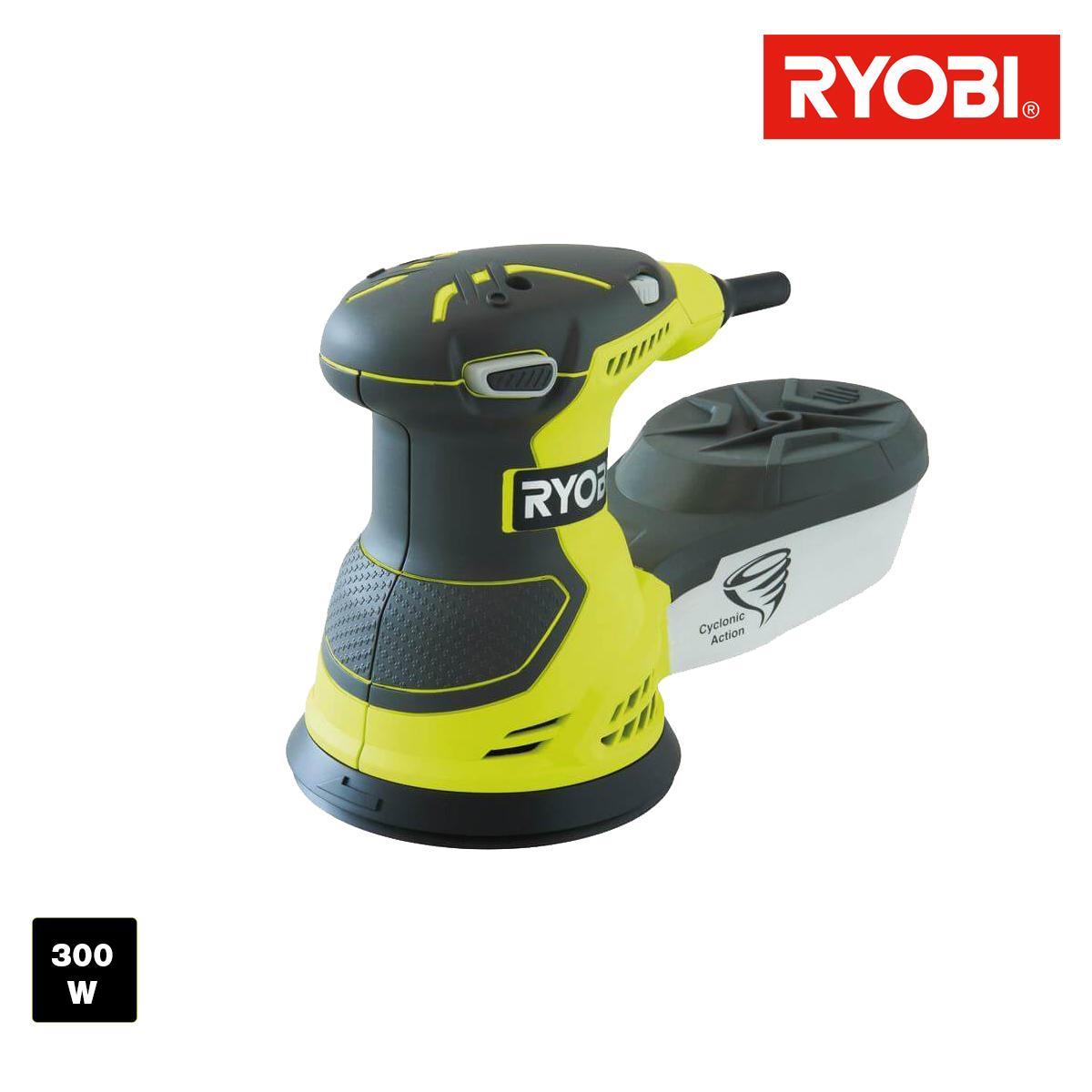 Ponceuse excentrique électrique 300W 125mm ROS300