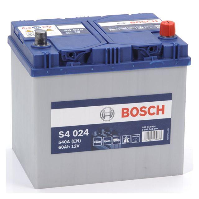 bosch batterie s4024 60ah 540a pas cher achat vente batteries rueducommerce. Black Bedroom Furniture Sets. Home Design Ideas
