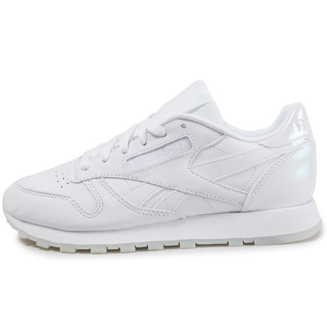 3650303757ee2 basket reebok femme classic leather. Reebok - Classic Leather L W Blanche  ...
