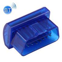 Wewoo - Lecteur de Code Prise outil diagnostic diagnostique scanner voiture du mini Obdii Bluetooth 2.0 B20 appui 7 protocoles bleu