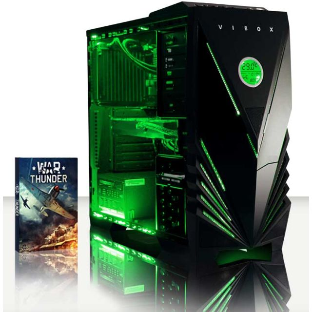 VIBOX Processeur Quad 4-Core Intel i7 6700 - GTX 1060 - 16 Go RAM - 1 To + SSD 120 Go - Pas de Windows