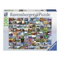 Ravensburger - Puzzle 1500 pièces Les plus beaux endroits du monde