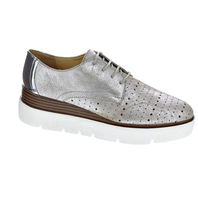 Royaume-Uni disponibilité ac586 cb527 Geox - Chaussures Femme Chaussures a lacets modele Kattilou ...