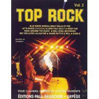 Paul Beuscher Publications - Partitions Variété, Pop, Rock. Top Rock Vol.2 - Pvg Piano Voix Guitare